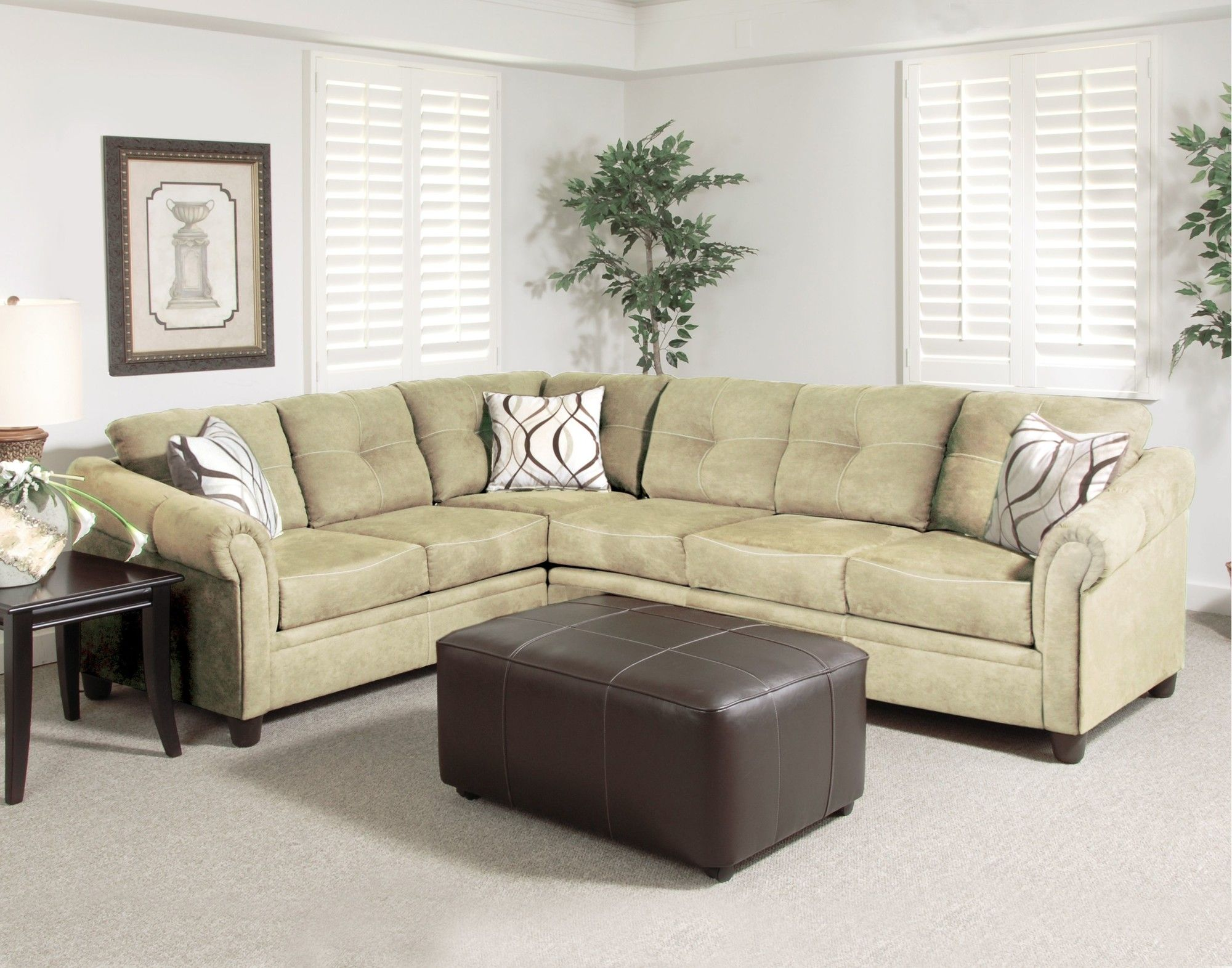Serta Upholstery Sectional Sofa & Reviews | Wayfair