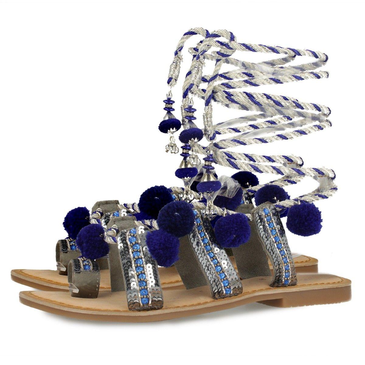 Sandalias GIOSEPPO azul YURAK Gioseppo 2D2Z9d
