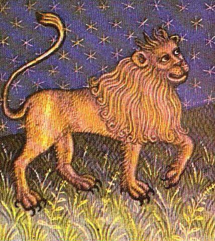Leeuw,  http://www.annekeguis.nl/index.php?Astrologie___De%26nbsp%3Bsterrenbeelden