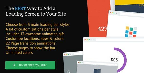 Free Download The Loading Bar WordPress Plugin v1.6 ...