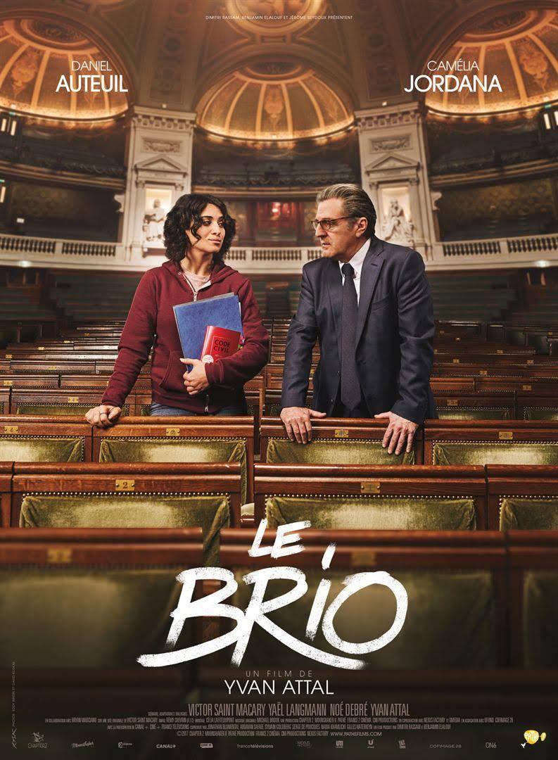 Le brio - 2017 - Yvan Attal - Daniel Auteuil, Camelia Jordana - Belle  histoire et très éloquent. Supers acteurs. - Note: 7/10 - Vu le 9/10/2018