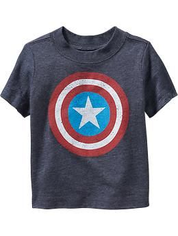 Marvel Comics™ Captain America Tees for Baby | Old Navy
