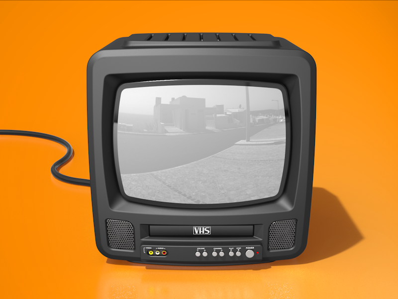Crt Vhs Double Obsolescence Crt Tv Icon Crt Tv