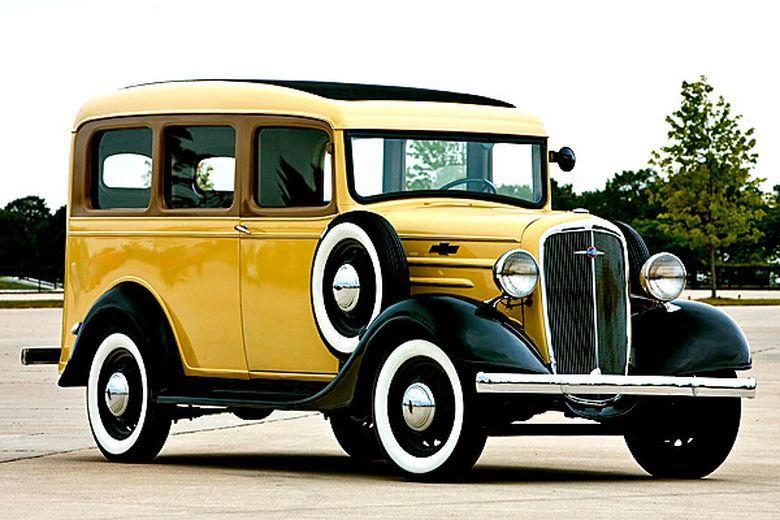Chevrolet Suburban 1935 With Images Chevrolet Suburban