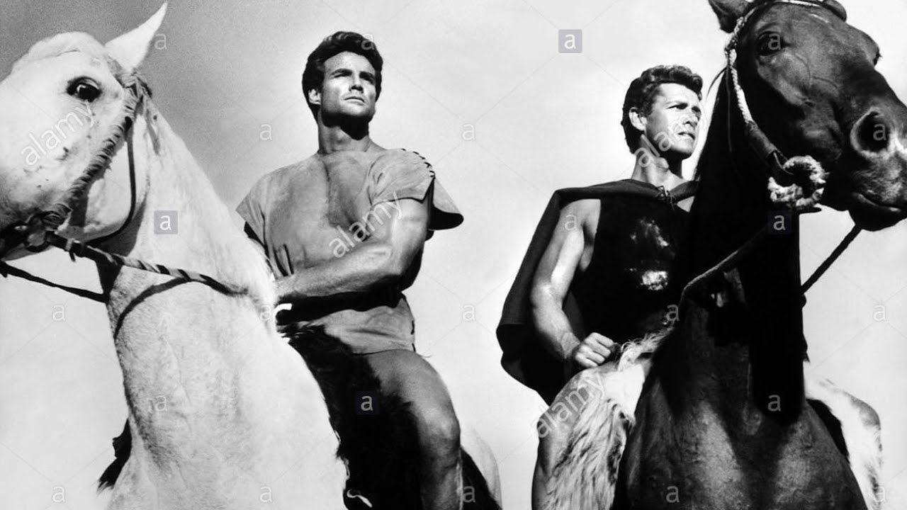 Romolo E Remo 1960 Con Steve Reeves Gordon Scott Film Completo Italiano Youtube Film Film Completi Hollywood