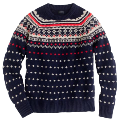Lambswool Fair Isle Sweater - Matchbook Magazine | f | Pinterest ...