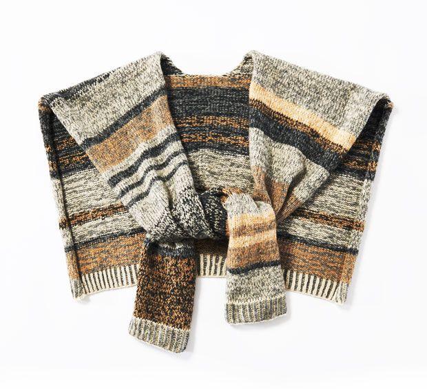 Photo of Poncho-Schal stricken – eine Anleitung