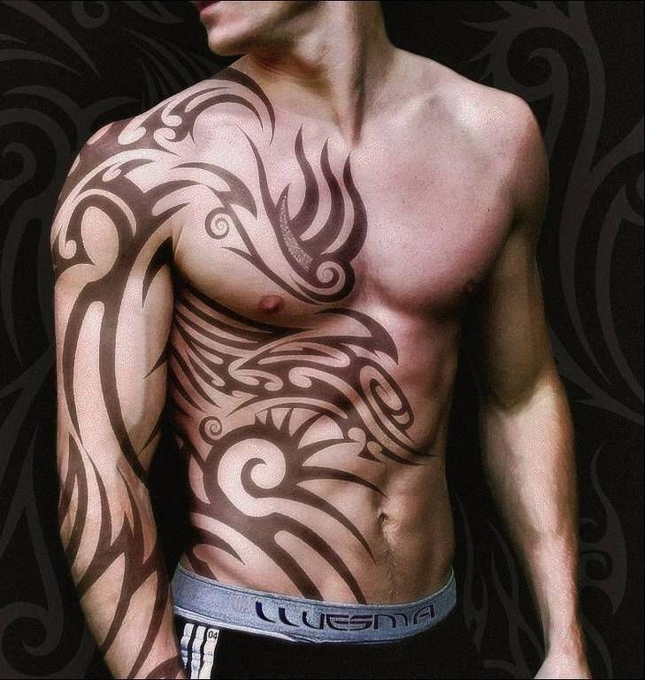 26+ Stunning Tribal Tattoos Designs For Men & Women