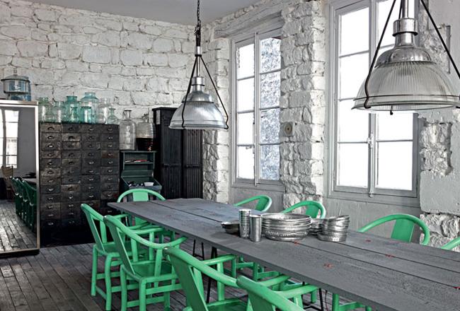 Industrial and vintage in paris sweet home pinterest for Decoracion de interiores paris