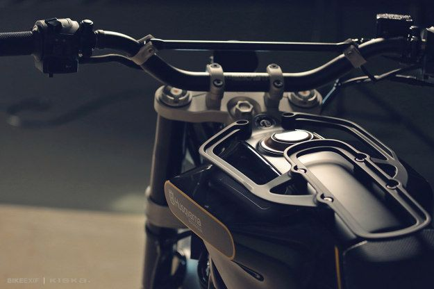 The Husqvarna 401 Svart Pilen 'Black Arrow' motorcycle concept.