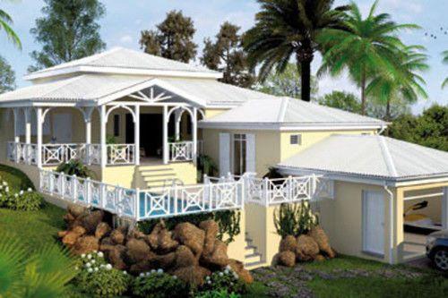 Villa antilles maison antilles pinterest plan de villa faire construire sa maison et for Villa a construire