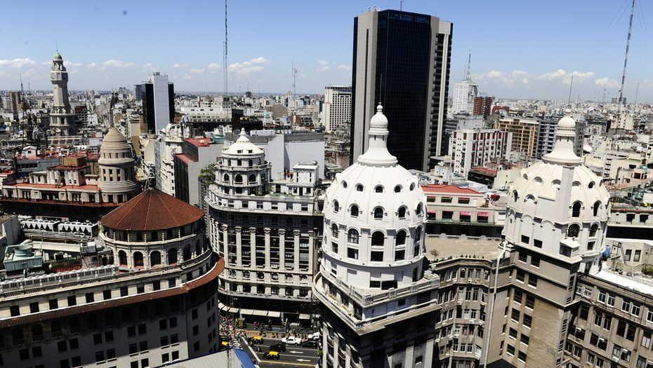 GPS Buenos Aires desde el cielo