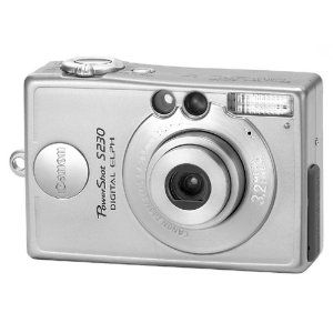 Canon Powershot S230 3 2 Mp Digital Elph Camera With 2x Optical Zoom Electronics