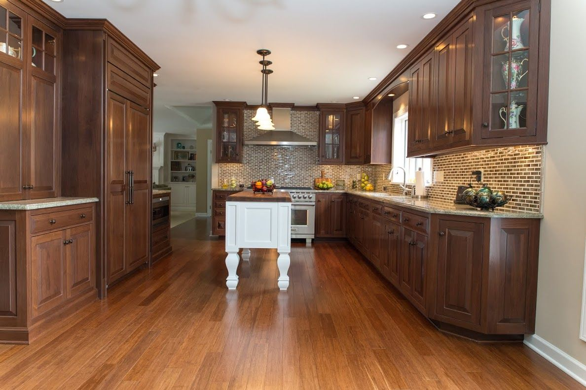 Classic Walnut Kitchen Remodel In Rochester Ny With Images