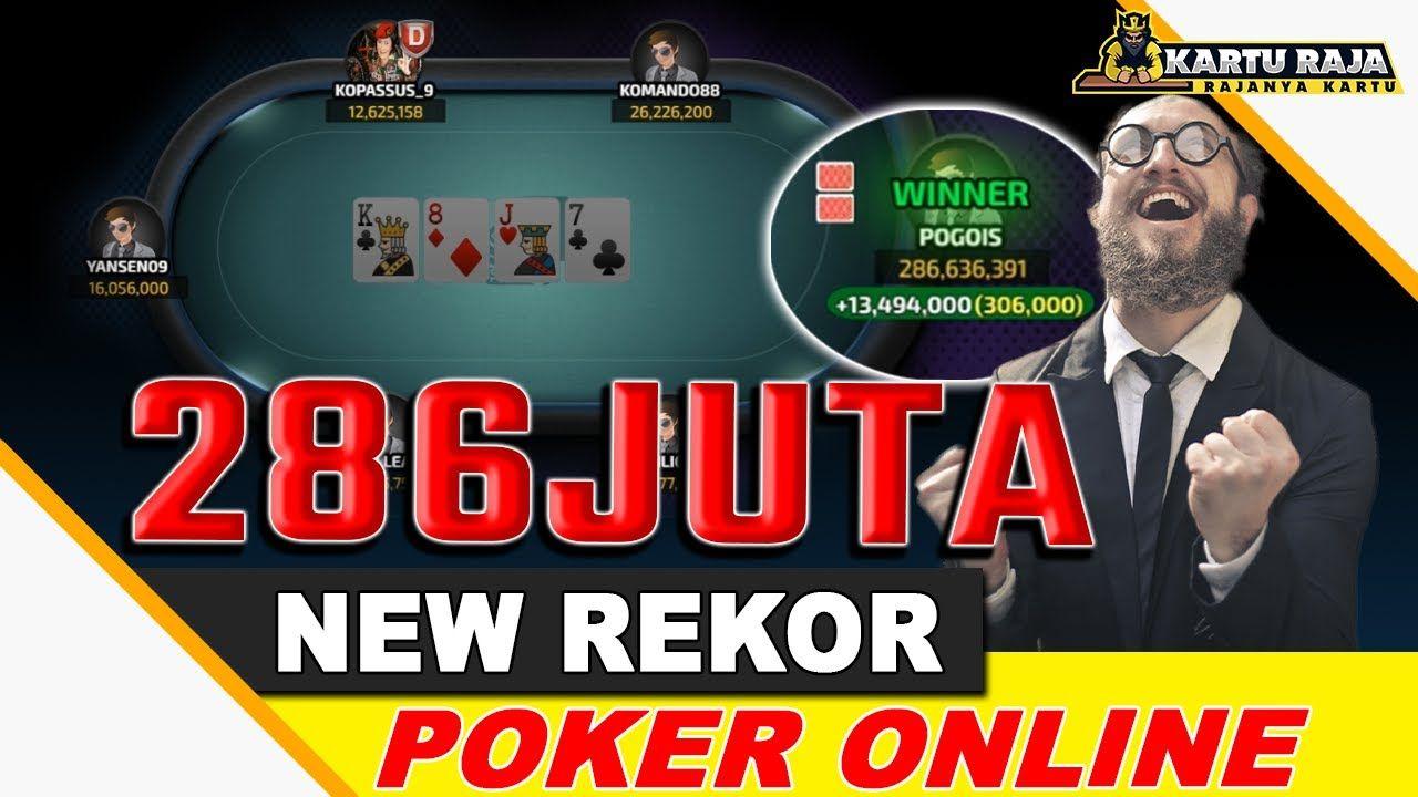 Pogois Menang 286juta Di Meja Vip Idn Poker Online Karturaja Poker Indonesia