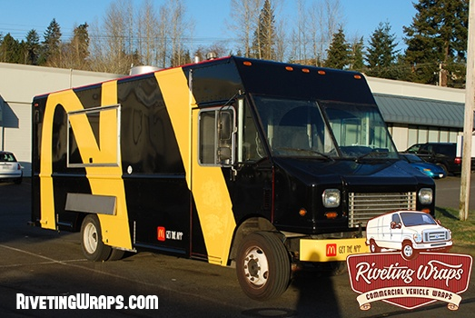 Food Truck Wrap For Mcdonald S Truck Wraps Graphics Car Graphics Truck Graphics