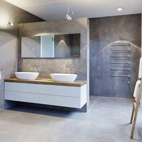 Badezimmer Ideen, Design und Bilder | Bathroom designs, Interiors ...