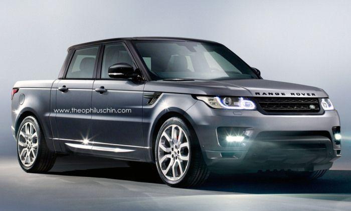 Range Rover Sport Pickup Rendering Range Rover Supercharged Range Rover Sport Range Rover