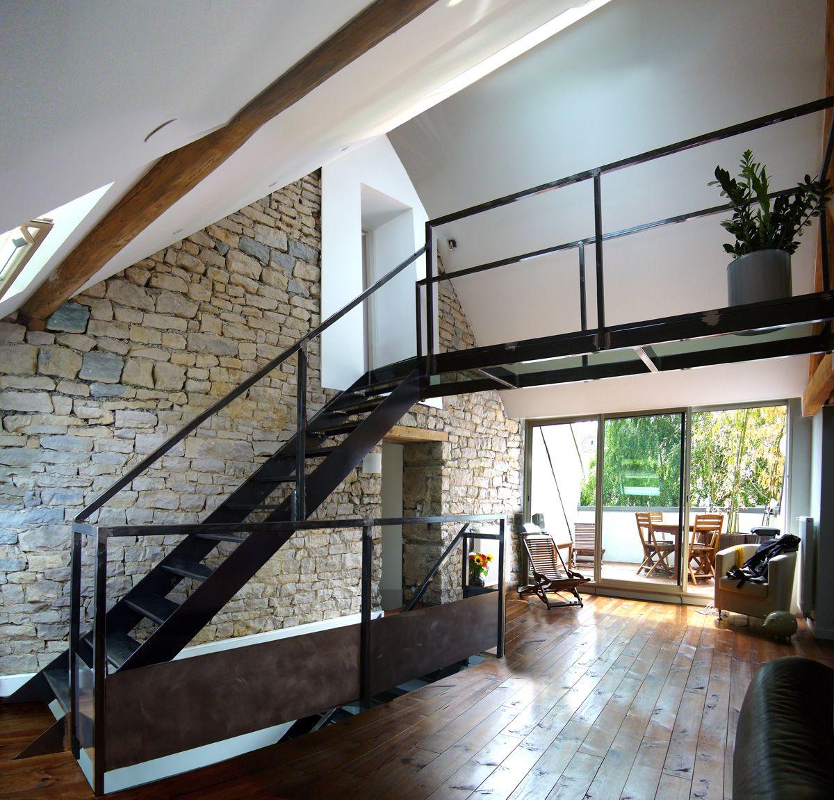 r novation grange am nagement loft divercity entreprise g nerale de batiment lyon 69. Black Bedroom Furniture Sets. Home Design Ideas