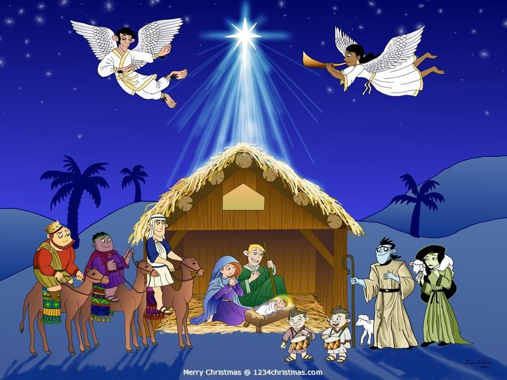 Christmas Nativity Scene Wallpaper | Christmas Nativity Scenes ...