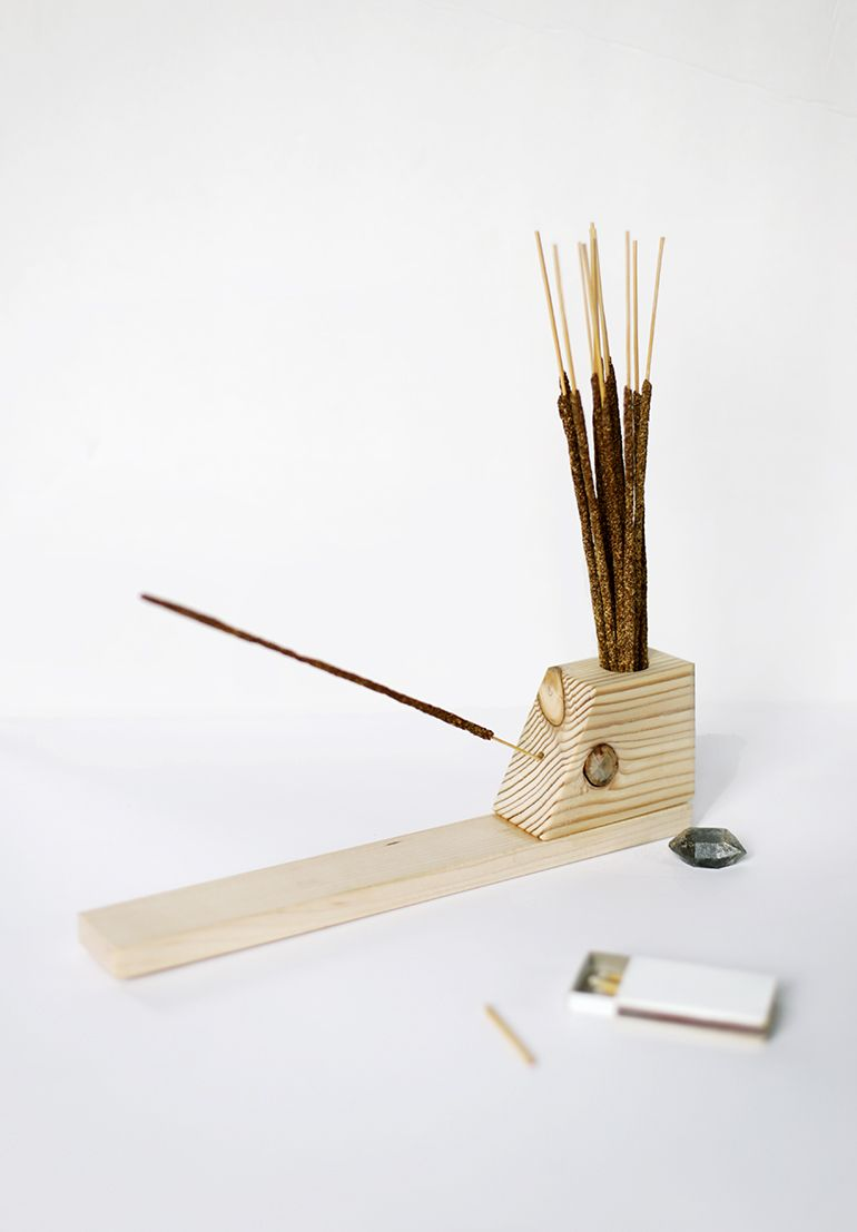 diy incense holder | merry diy | diy incense holder, diy, incense holder