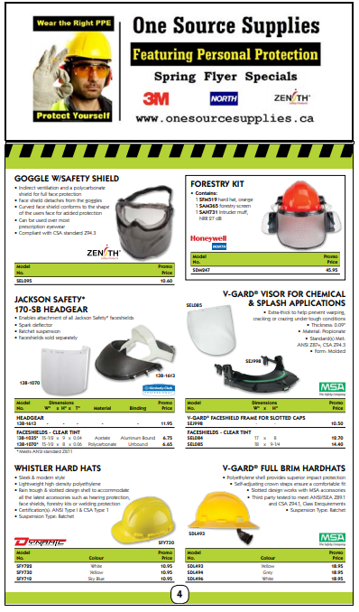 Order Online, Safety PPE Faceshields ForestryKit