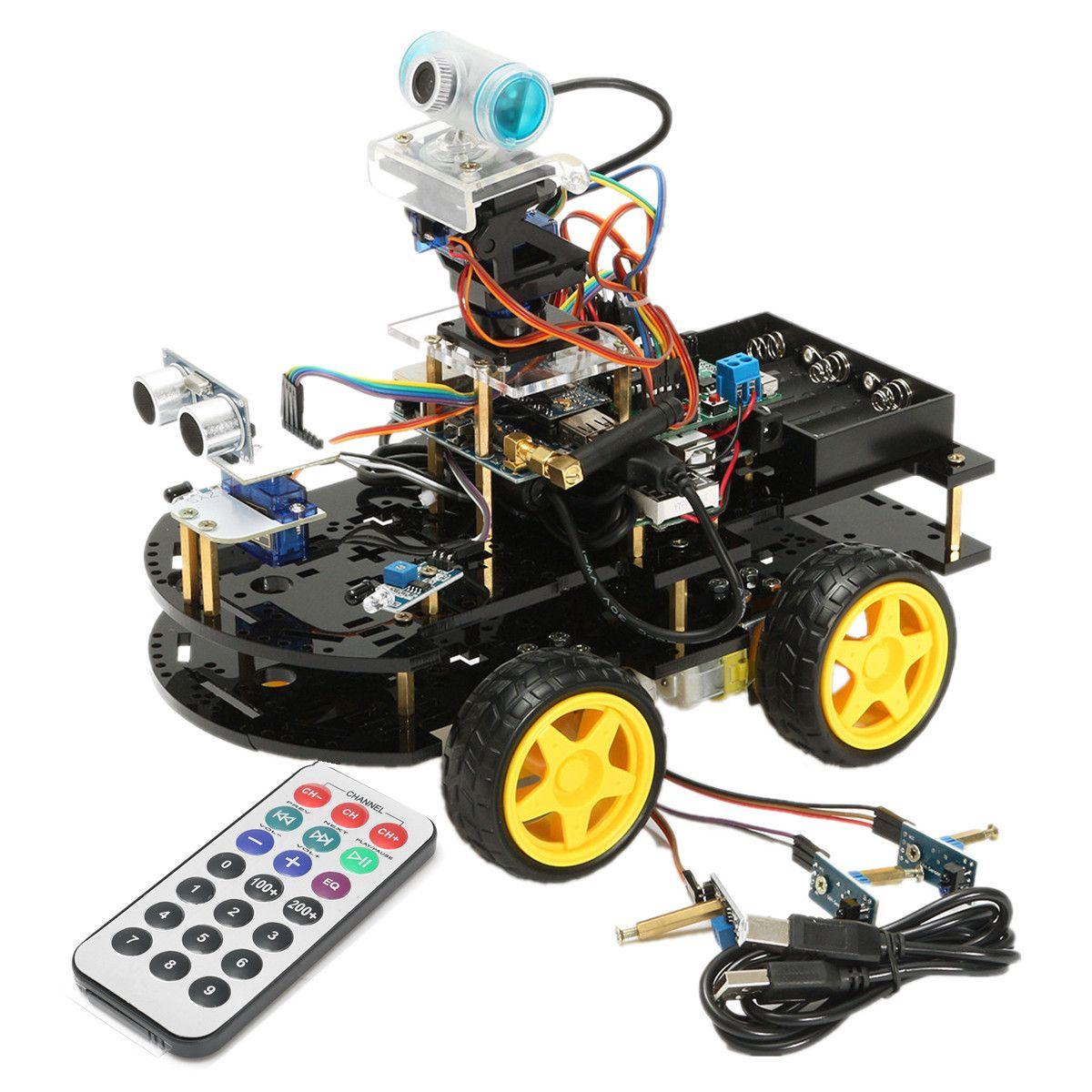 Diy 4wd wifi programmable smart robot car kit support ios system diy 4wd wifi programmable smart robot car kit support ios system malvernweather Choice Image
