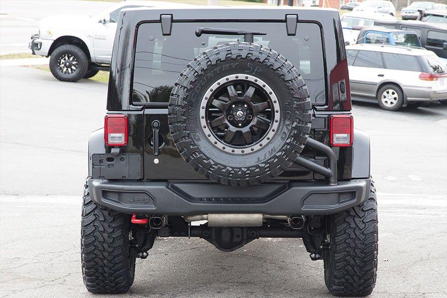 2016 Jeep Wrangler Rubicon Hard Rock Unlimited Black Jeep