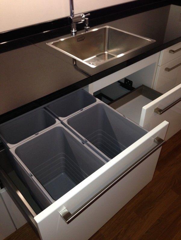 Keramikspüle Subway 45 Becken rechts - küchen unterschrank spüle