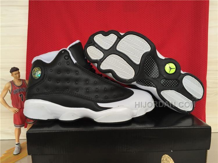 """Air Jordans 13 """"Oreo"""" Custom For Sale"""
