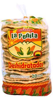 Mexican Tostadas Deshidratada  LA PENITA