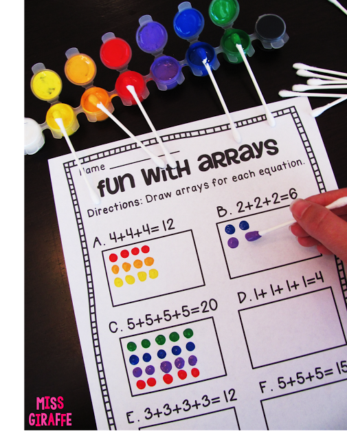 How to Teach Arrays - lots of really fun ideas for teaching ...