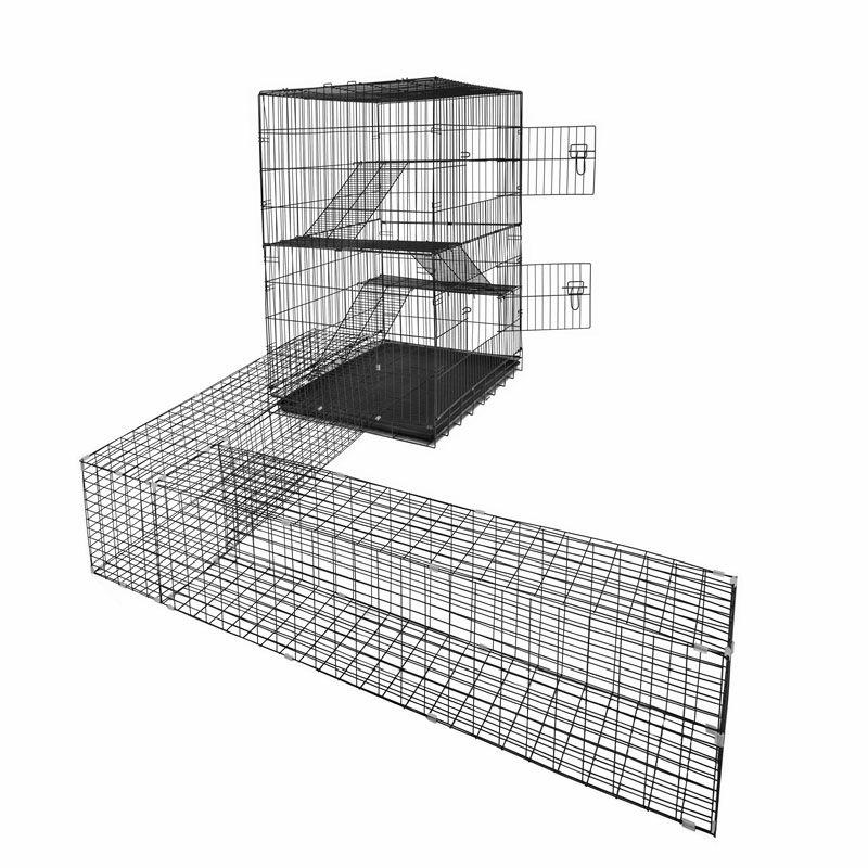 Rapidmesh 122 X 106 X 73 5cm Animal Enclosure And 1 Tunnel Animals Enclosure Enclosures