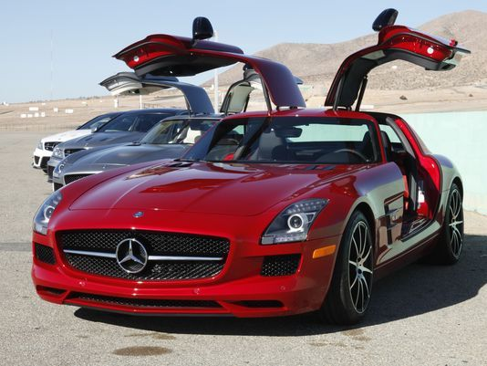 Mercedes-Benz SLS AMG GT supercar