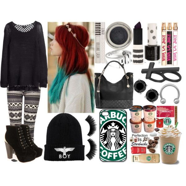 """Starbucks Is PERFECTION!!!!"" by hannahbanana3233 on Polyvore"