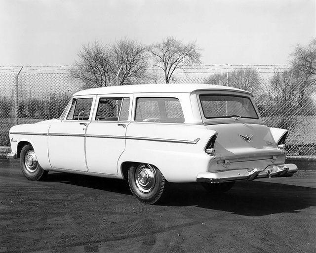 1955 Plymouth Belvedere Suburban Station Wagon