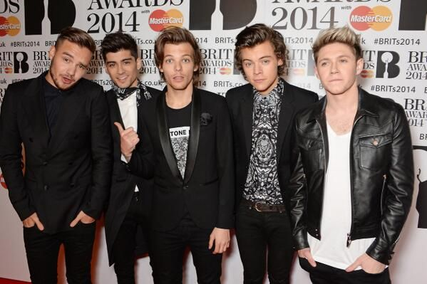 The boys on the red carpet at the Brits! They look so good!