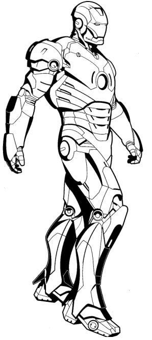 Desenhos para colorir - Iron Man para colorir | Desenhos para ...