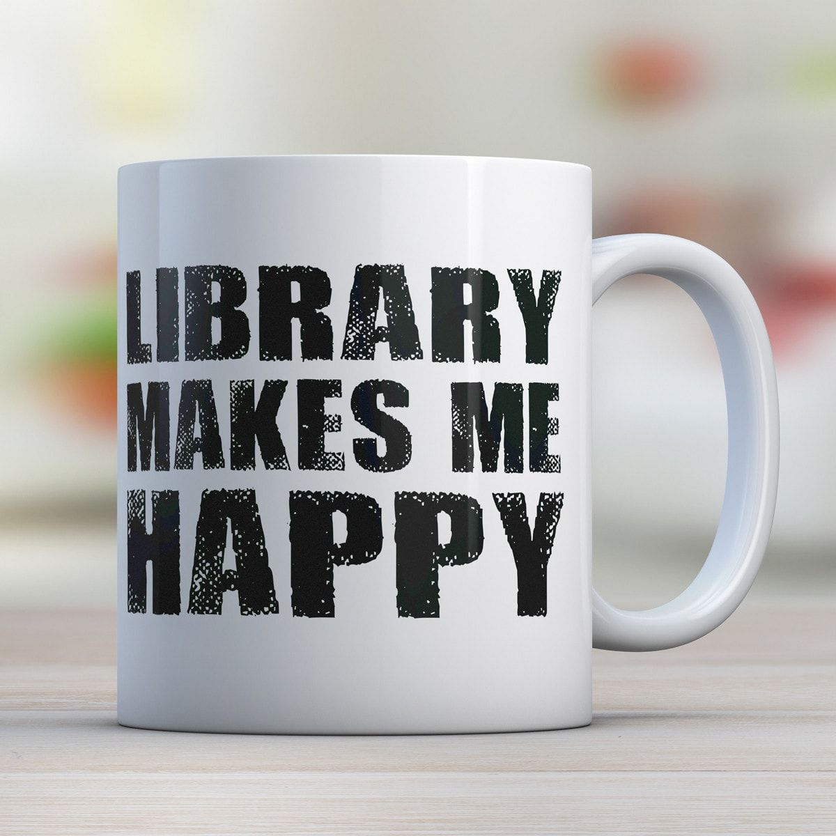 Library Makes Me Happy - Awesome Librarians