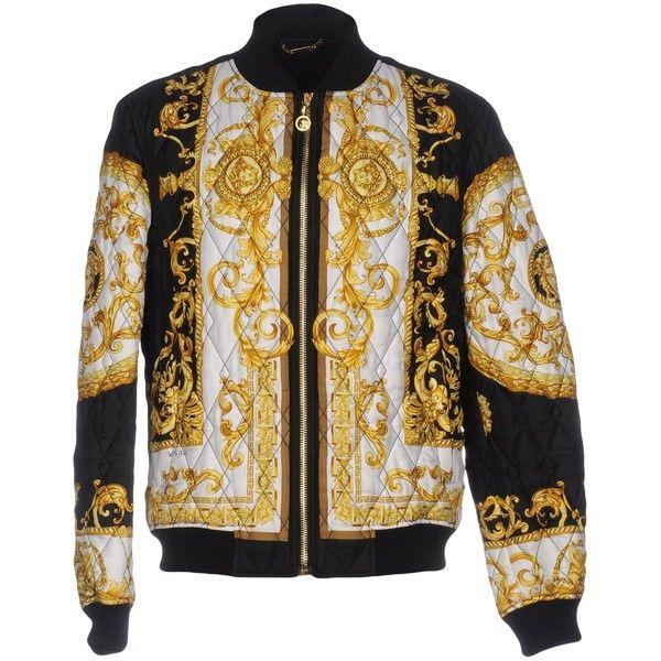 VERSACE Jacket ($1,941) ❤ liked on Polyvore