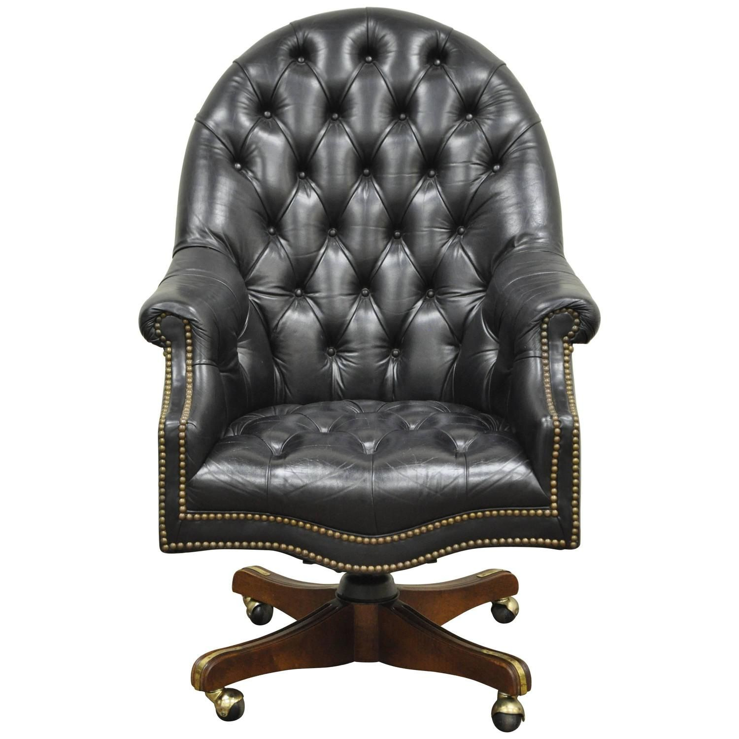 Leather Tufted Office Chair Expensive Home Furniture Check More At Http Www Drjamesghoodblog
