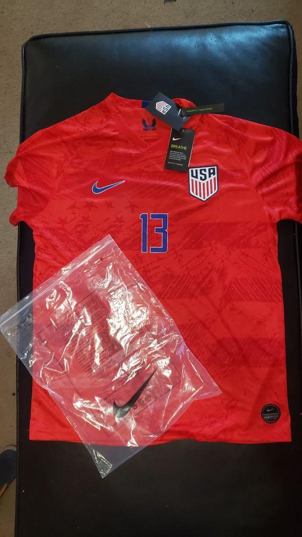 buy popular bd97d b1f93 NEW Mens Nike USWNT #13 Alex Morgan Jersey 2xl in 2019 ...