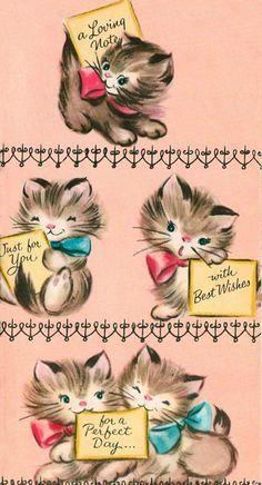 Vintage Cards Postcards