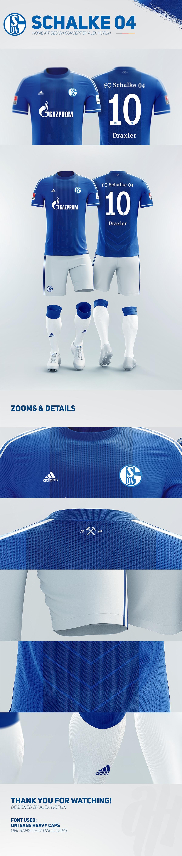 camisetas de futbol FC Schalke 04 deportivas