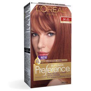 6R Superior Preference - Fade-Defying Hair Color - LOreal Paris ...