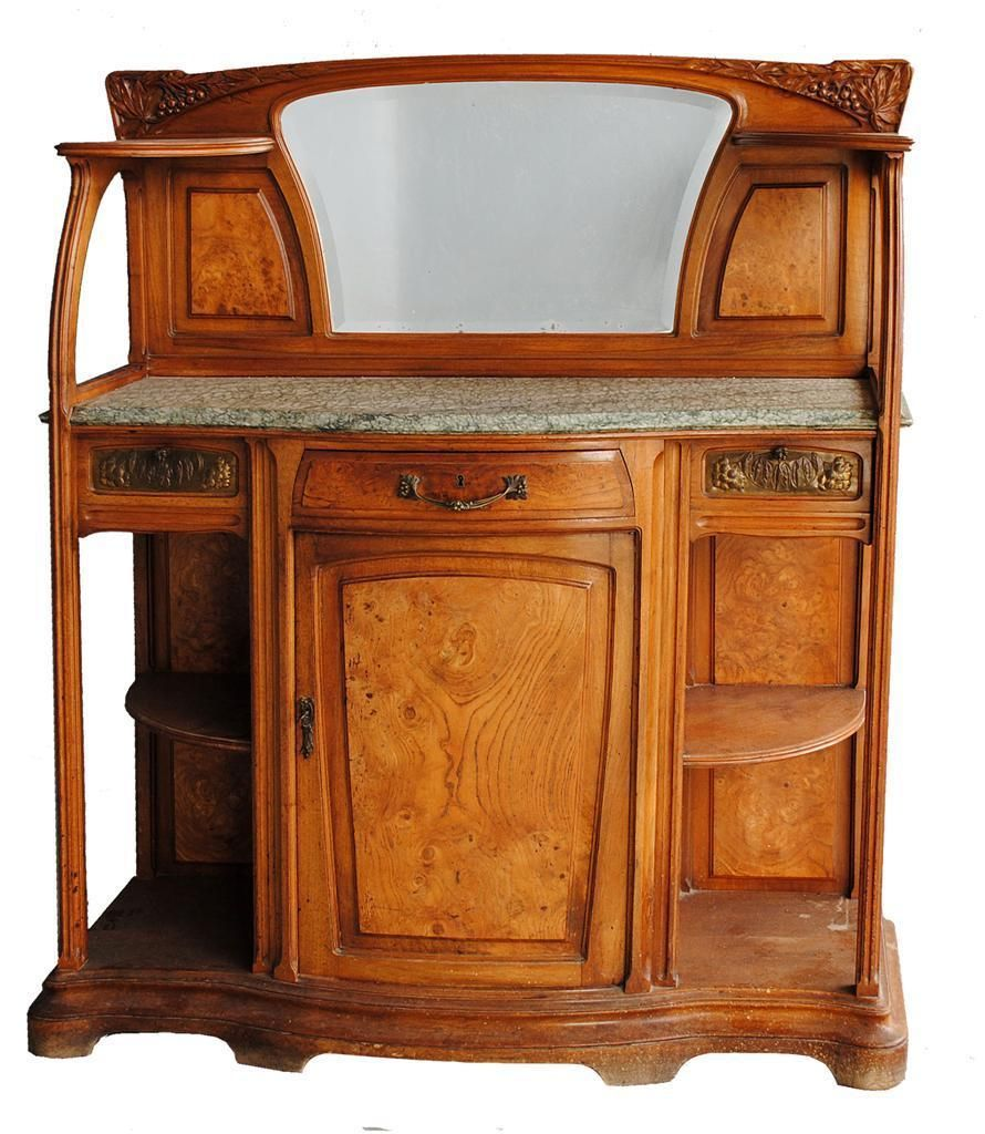 desserte nouille art nouveau gauthier poinsignon. Black Bedroom Furniture Sets. Home Design Ideas