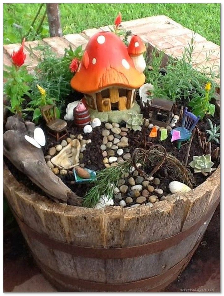 50 Magical And Best Plants DIY Fairy Garden Ideas 35