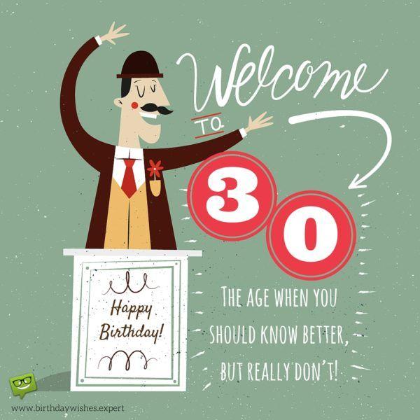 Happy 30th Birthday 30th Birthday Wishes 30th Birthday Funny Happy 30th Birthday Wishes