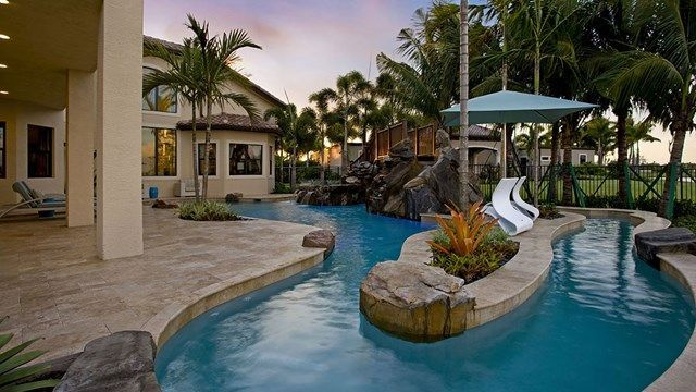 Lazy River Pools For Home   Google Search