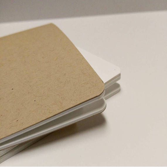 TN Insert   Tomoe River Paper  Kraft OR White Linen Cover
